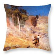 A Break Away Throw Pillow