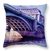 A Bridge In London Throw Pillow