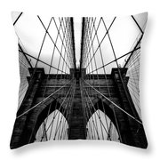 A Brooklyn Perspective Throw Pillow
