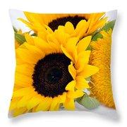 A Bunch Of Sunshine Throw Pillow