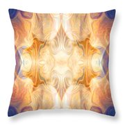 A Burst Of Light Abstract Living Artwork By Omaste Witkowski Throw Pillow