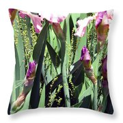 A Bushel Of Pink Throw Pillow