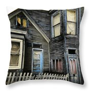 A Bygone Era Throw Pillow