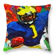 A. C. In The House Throw Pillow
