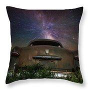 A Car's Dream... Throw Pillow