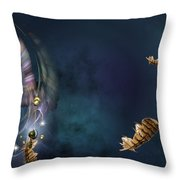 A Catcher Of Dreams Throw Pillow