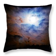A Celestial Harmonic Throw Pillow