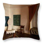 A Cell In Santa Catalina Monastery Throw Pillow by RicardMN Photography