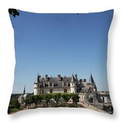 A Chateau Like From A Fairy Taile Throw Pillow
