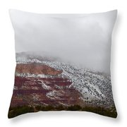 A Cold Afternoon Throw Pillow