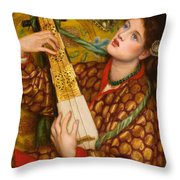 A Christmas Carol Throw Pillow