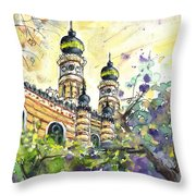 A Church In Budapest 01 Throw Pillow