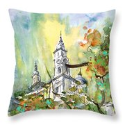 A Church In Budapest 02 Throw Pillow
