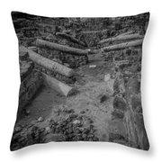 A City Falls Throw Pillow
