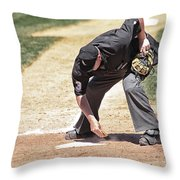 A Clean Home Throw Pillow