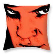 A Clockwork Orange Malcolm Mcdowell Throw Pillow