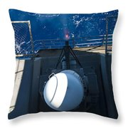 A Closed-in Weapons System Fires Throw Pillow
