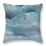 A Cold Day Throw Pillow