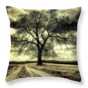 A Cold Wind Blows  Throw Pillow