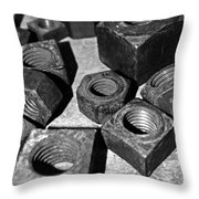 A Collection Of Nuts Throw Pillow