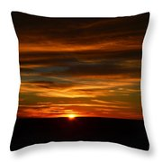 A Colorado Sunrise Throw Pillow