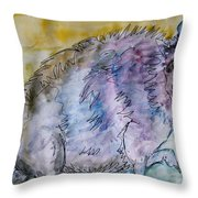 A Combination Of Different Species Throw Pillow