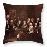 A Committee Of The House Of Commons Throw Pillow