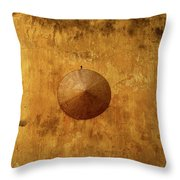 A Conical Hat Throw Pillow