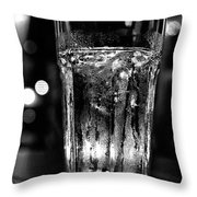 A Cool One Bw Throw Pillow