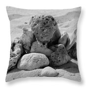A Coral Structure Throw Pillow