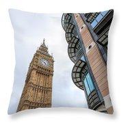 A Corner In London Throw Pillow