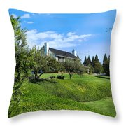 A Country Dream Throw Pillow