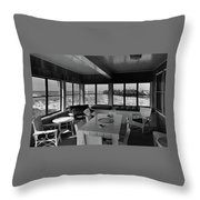 A Covered Porch With A View Throw Pillow