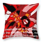 A Creative Man Throw Pillow