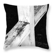A Cross Abstract 2 Throw Pillow