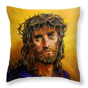 A Crown Of Thorns Throw Pillow