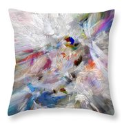 A Dance With Paint Throw Pillow