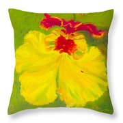 A Dancing Lady Throw Pillow