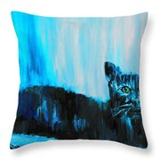 A Dark Ambiguous Presence Questioned All Throw Pillow