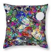 A Dash Of Abstract Imagery Throw Pillow