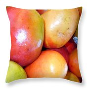 A Day At The Market #1 Throw Pillow