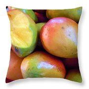 A Day At The Market #8 Throw Pillow