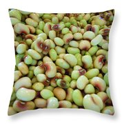 A Day At The Market #9 Throw Pillow