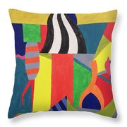 A Day At The Zoo, 1992 Throw Pillow