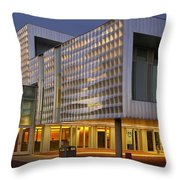A Day Comes To An End Throw Pillow