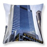 A Day In Ny02071557thstticker Throw Pillow