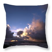 A Day Of Rain Throw Pillow