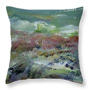 A Day Of Snow Throw Pillow