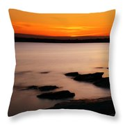 A Day's End Throw Pillow