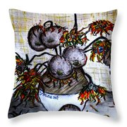 A Dedication To Vincent's 125 Year Anniversary Of His Death - 1890-2015 Throw Pillow